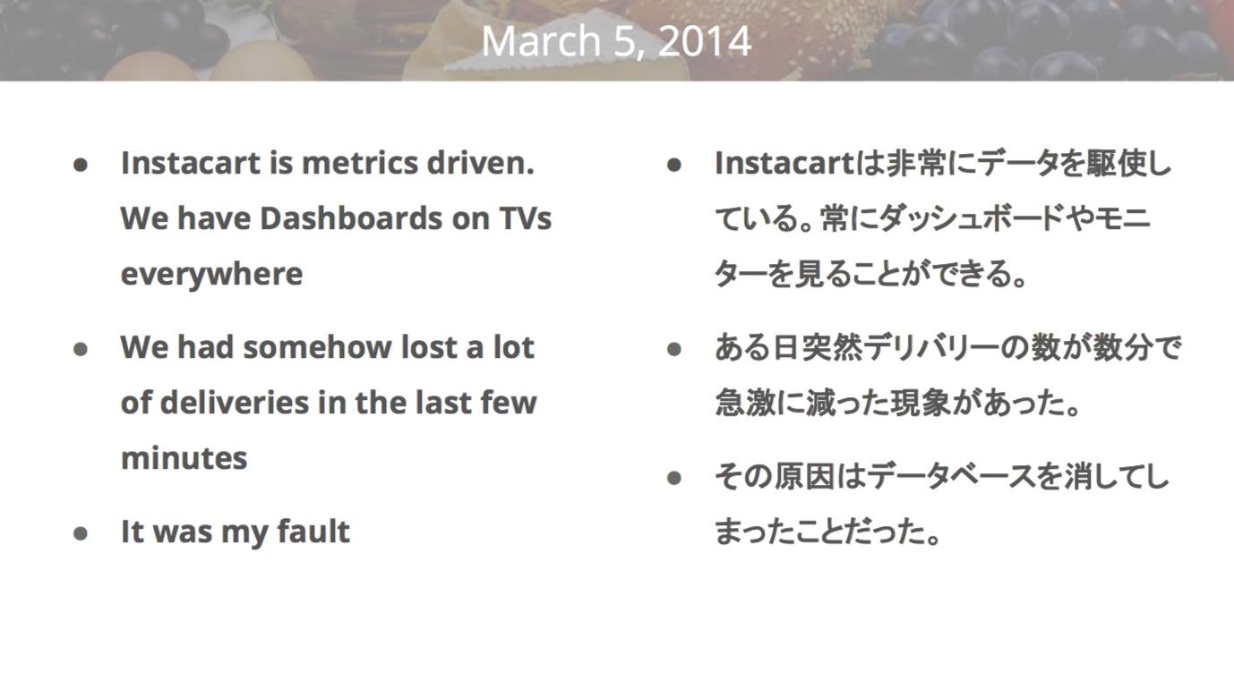 2014年3月5日の大惨事